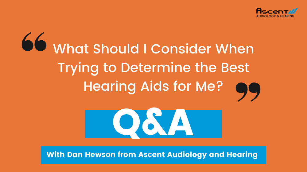 What to Consider When Choosing Hearing Aids? | Dan Hewson's Coffee & Audiology Episode #1
